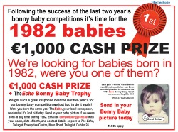 The Echo's Bonny Baby Competition 2015