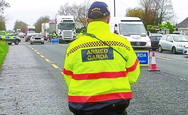 Crackdown on crime by armed gardaí gives results with 45 arrests