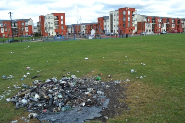 'Ongoing vandalism' plus discarded syringes are some of the problems