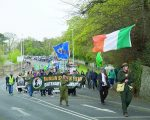 Over 1,000 proudly marched from Ballinteer car-park to St Enda's Park in remembrance