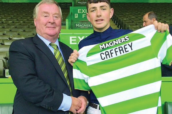 St Francis striker links up with SPL champions Celtic