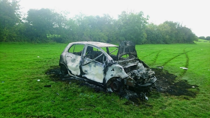 Burnt-out cars and illegal dumping escalating in Clondalkin