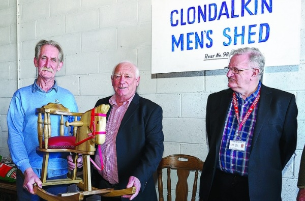 Men's Shed available but where does it go in Clondalkin?