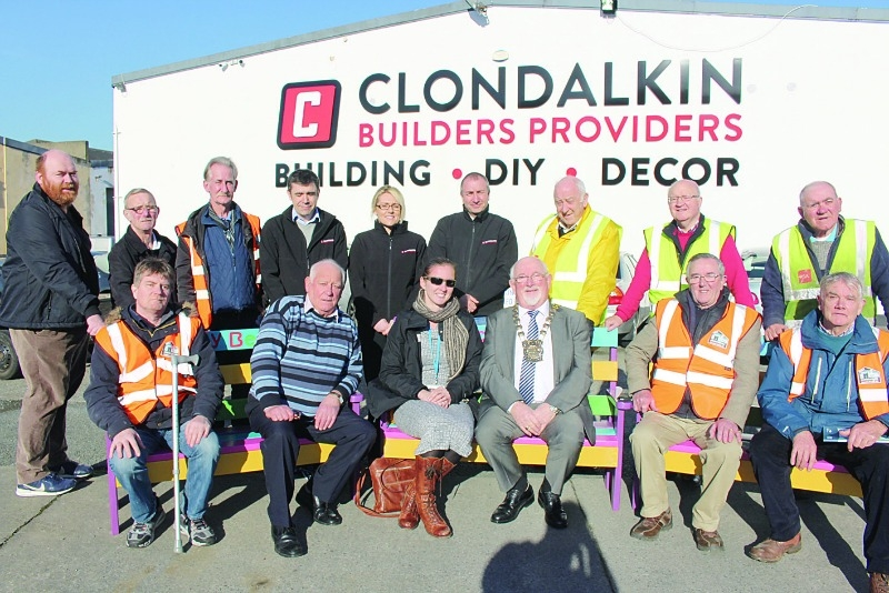 Clondalkin mens shed to build 19 buddy benches for schools