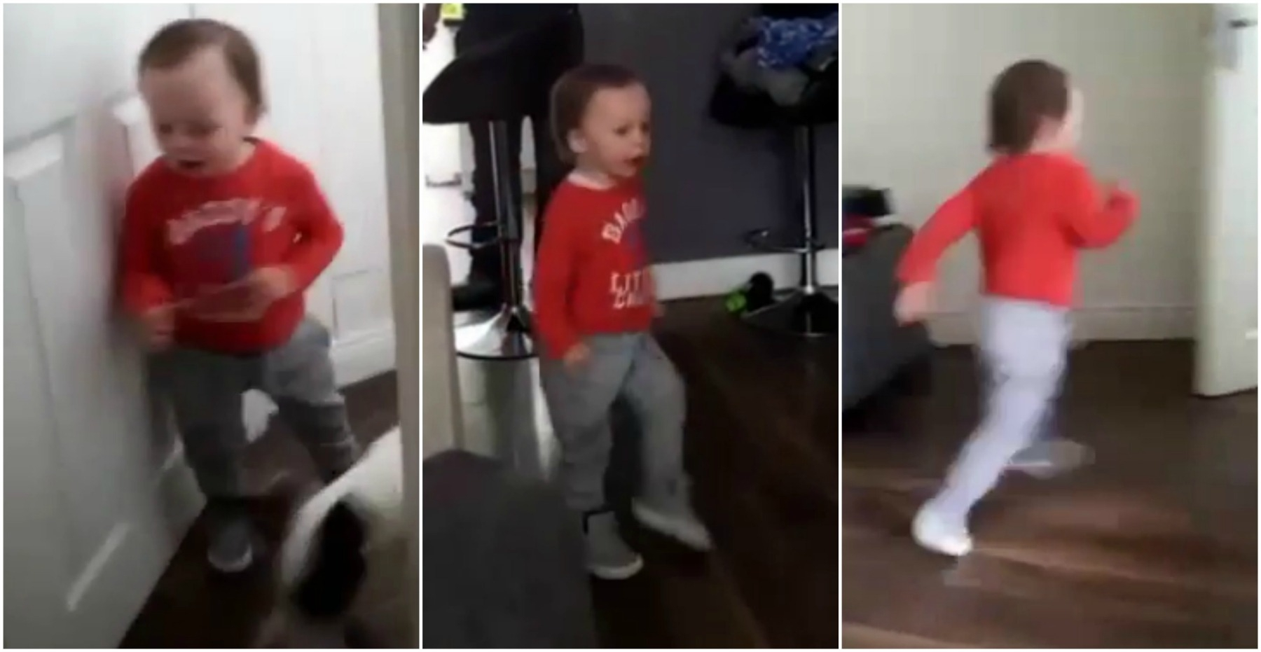 We love how excited this Clondalkin toddler is to hear the ice-cream van