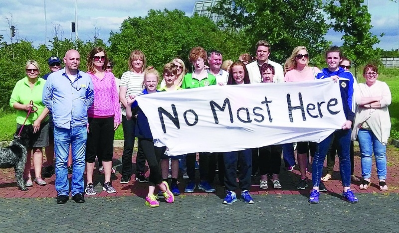 Residents anger over mast location