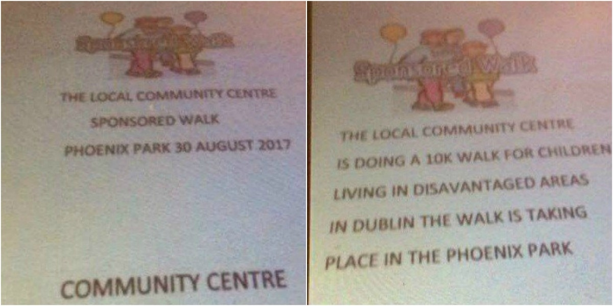 Residents warned after children caught collecting for charity event that does not exist