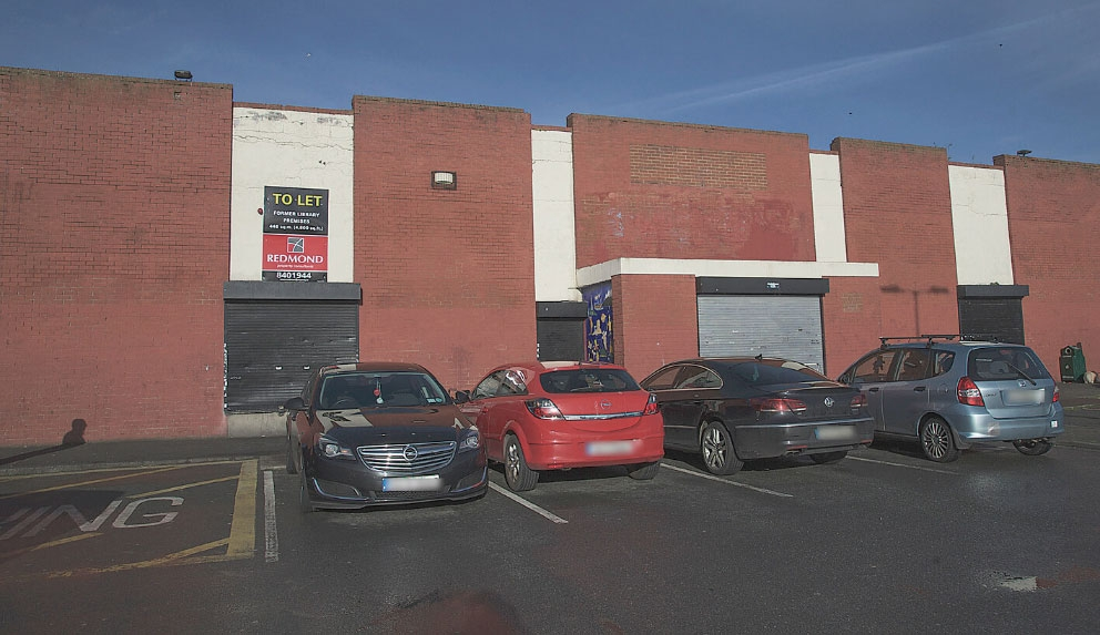 Former library may be used as retail unit