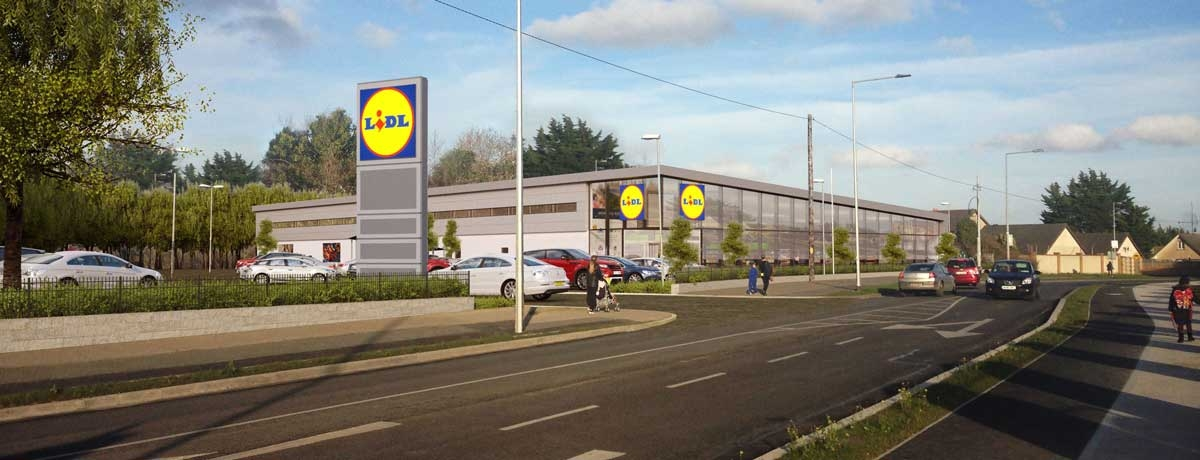 Lidl will rebuild a 'new and improved' store on Fortunestown Lane