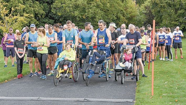 Team James fun run raises €6,000 for Barretstown Children's Charity