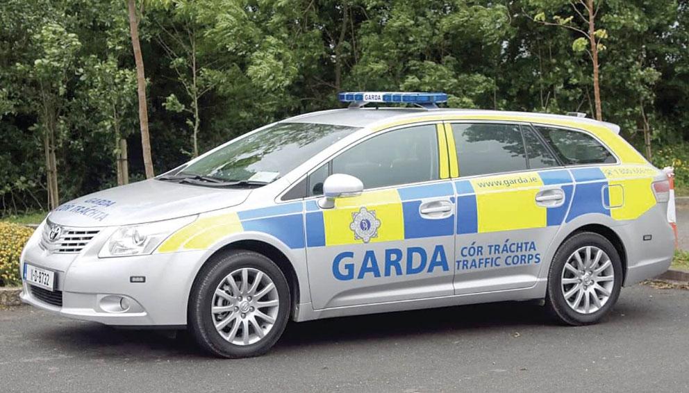 Only one garda car on patrol