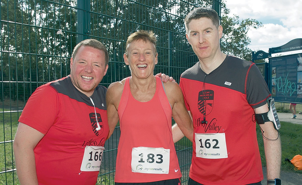 Lucan Harriers Athletic Club's Five-Mile Road Race a success