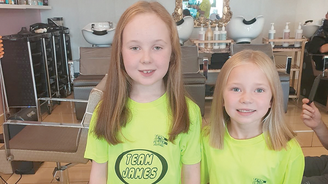 Family so proud of Lucy and Maisy after donating hair to Rapunzel Foundation