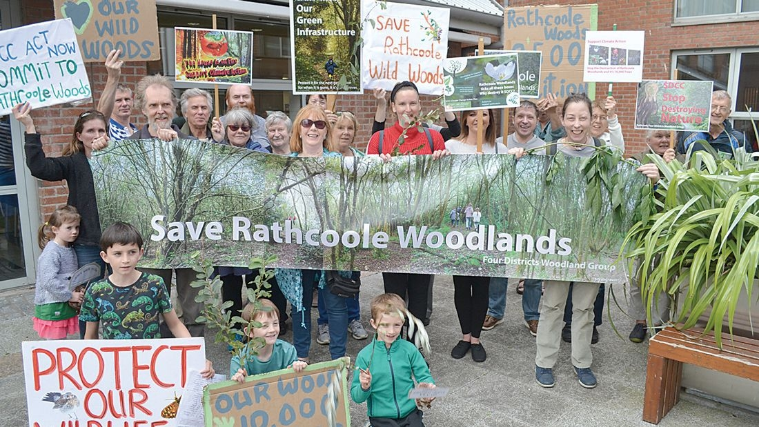 Huge support to Save Rathcoole Woodlands