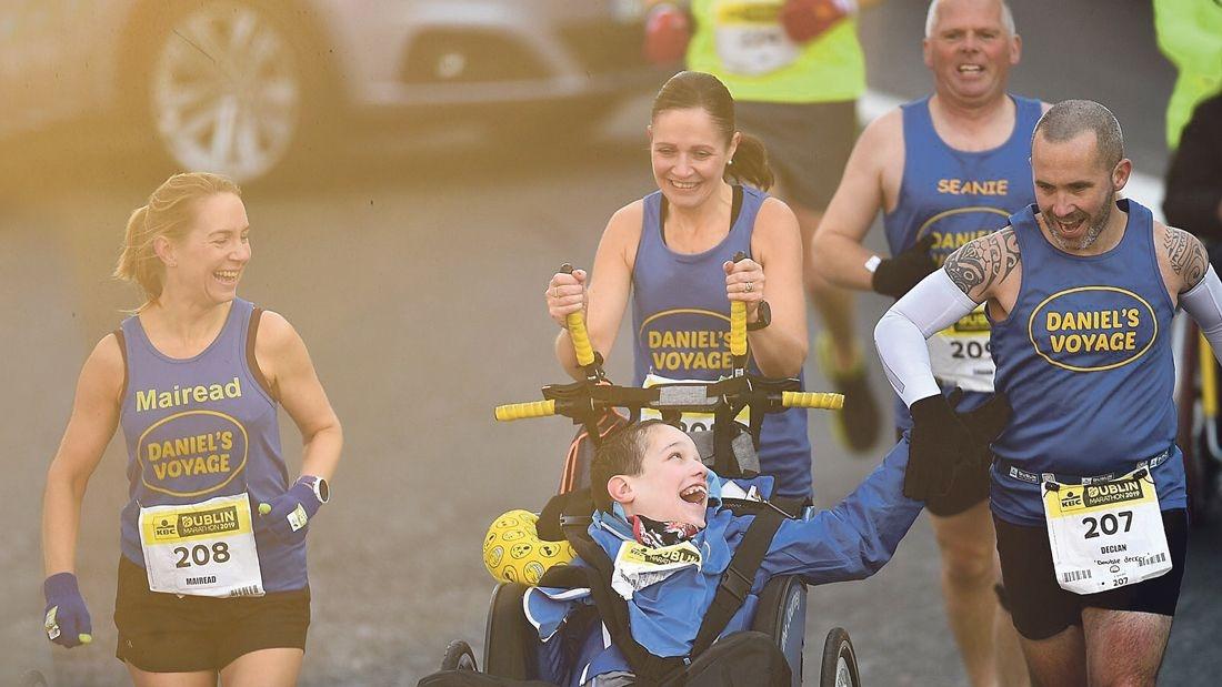 Locals shine in Dublin Marathon