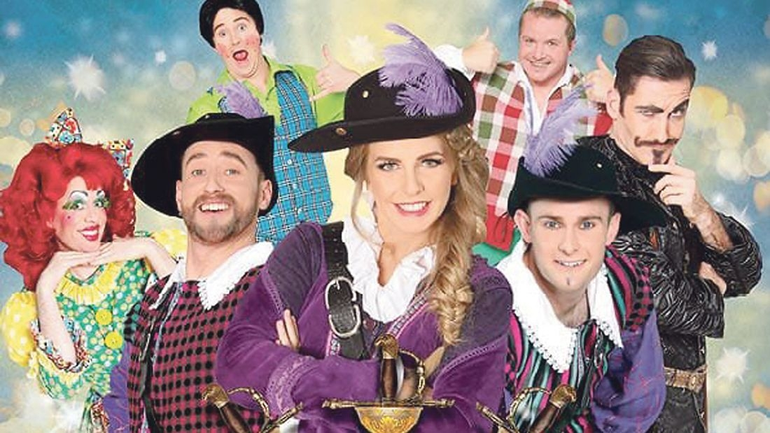 All For One – Roy Grimson joins the musketeers in panto