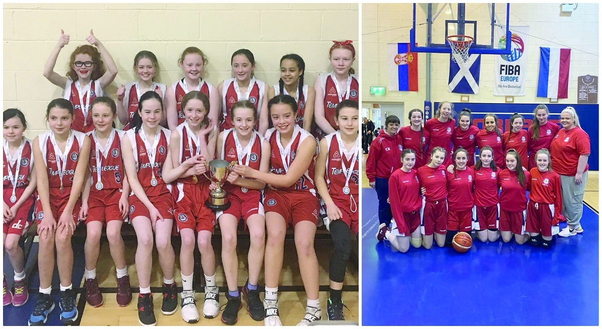Templeogue girls make it a double