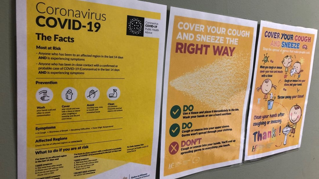 Coronavirus: 25 further deaths and 480 new cases confirmed