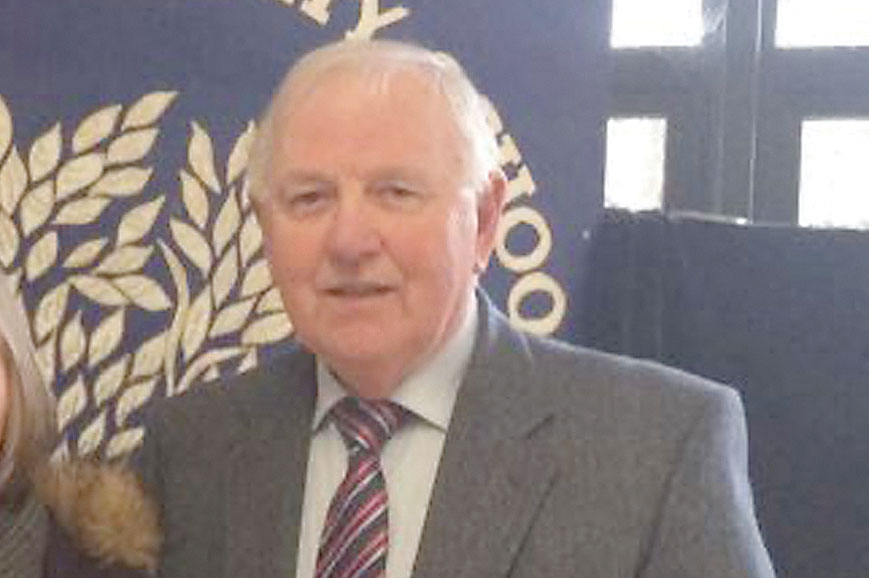 Frank laid strong foundations at Old Bawn Community School