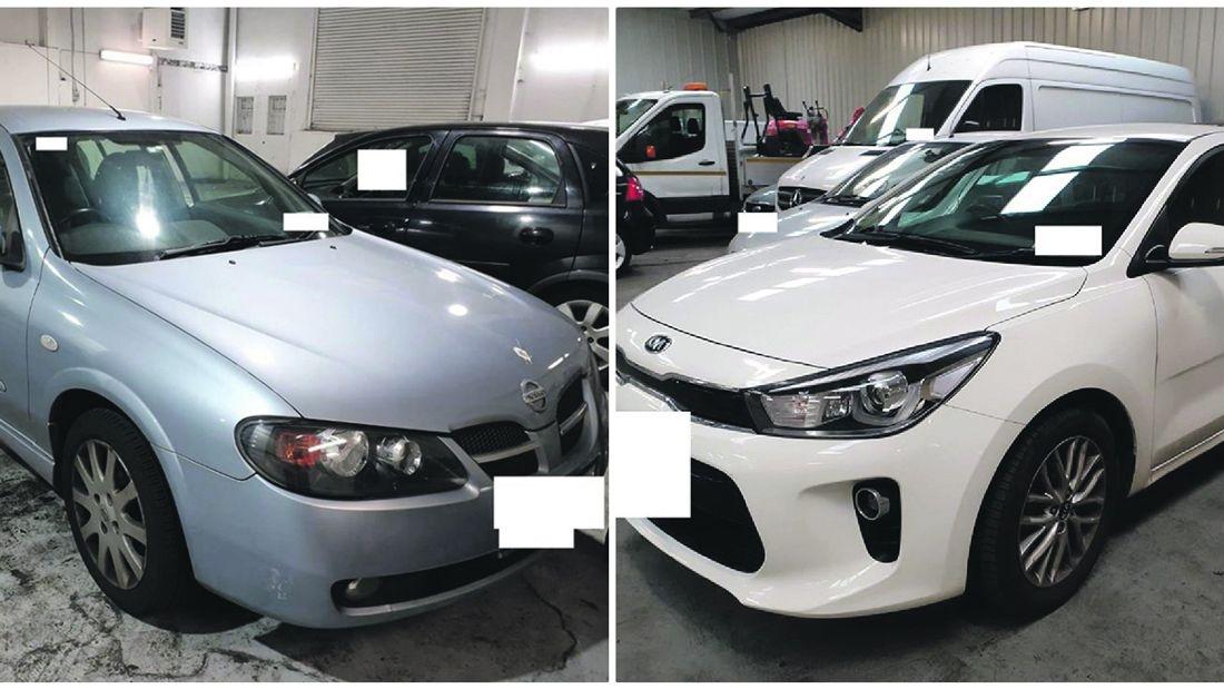 Gardai recover stolen vehicles