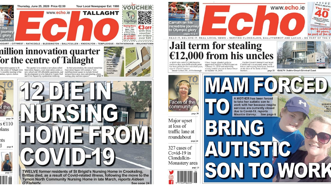This week's front pages – 25th of June 2020