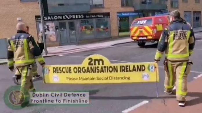 Frontline to Finishline walk for charity