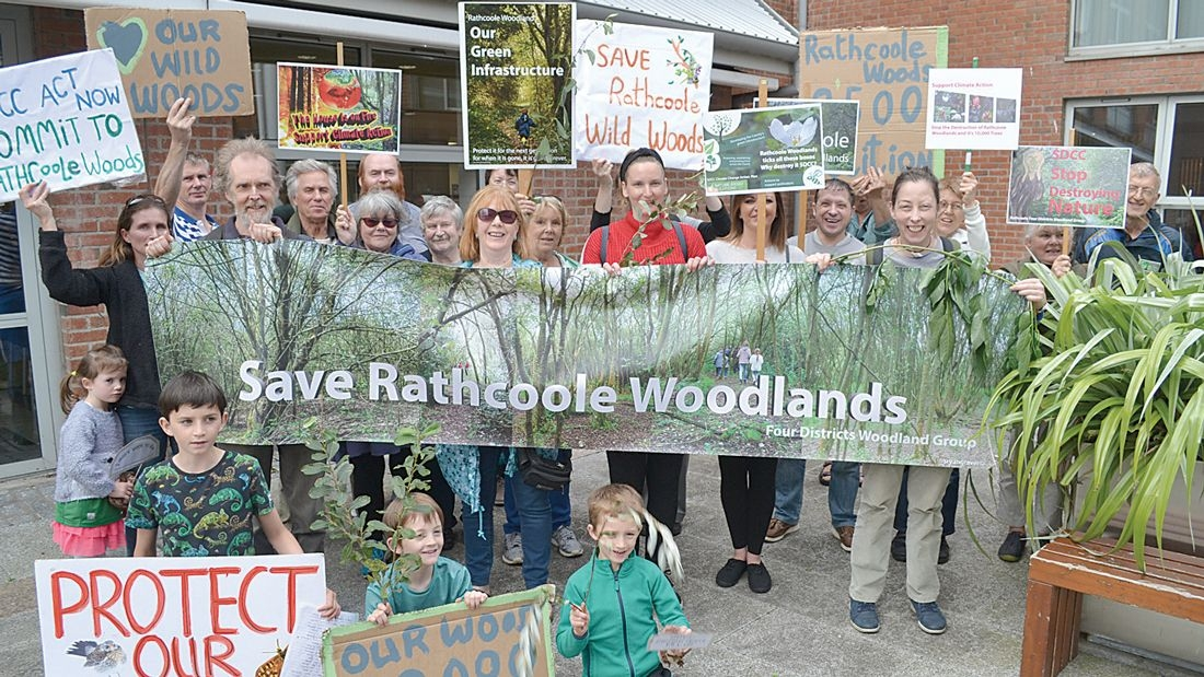 Four Districts Woodland call on people to view draft masterplan