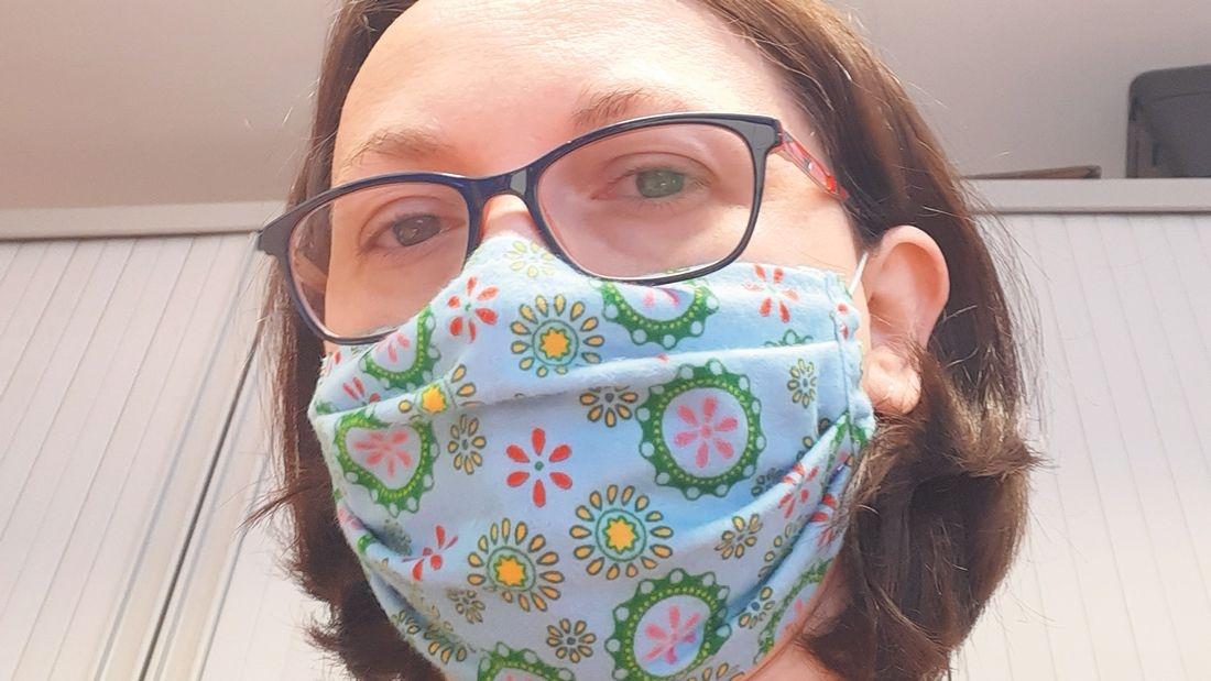 Ballycullen woman made 300 face masks