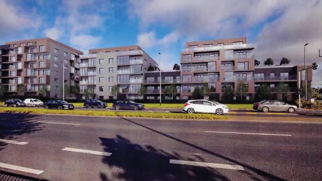 Anger at plans approved for 250 apartments at Vincent L Byrne site