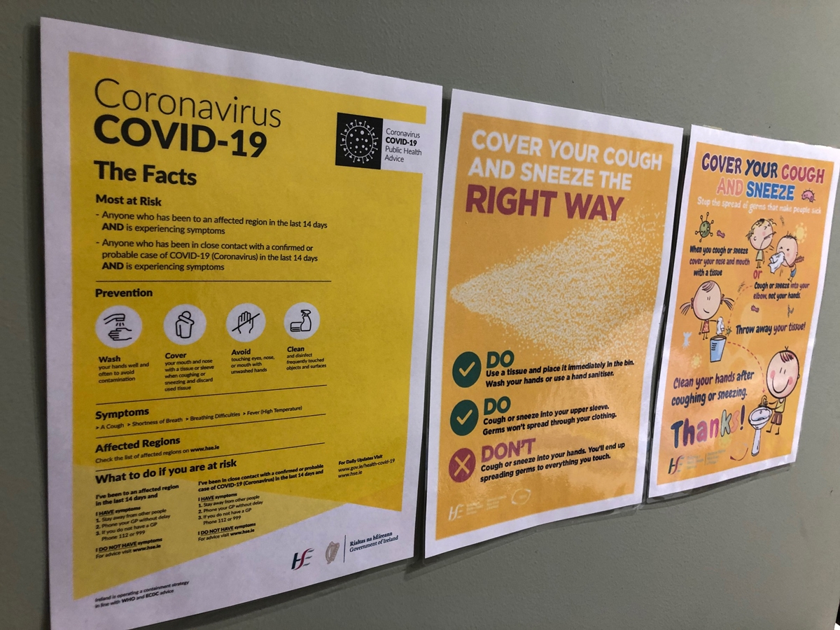 Coronavirus: Four further deaths and 344 new cases