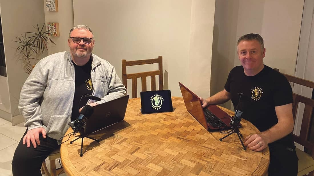 Childhood friends lockdown podcast attracts some high profile guests