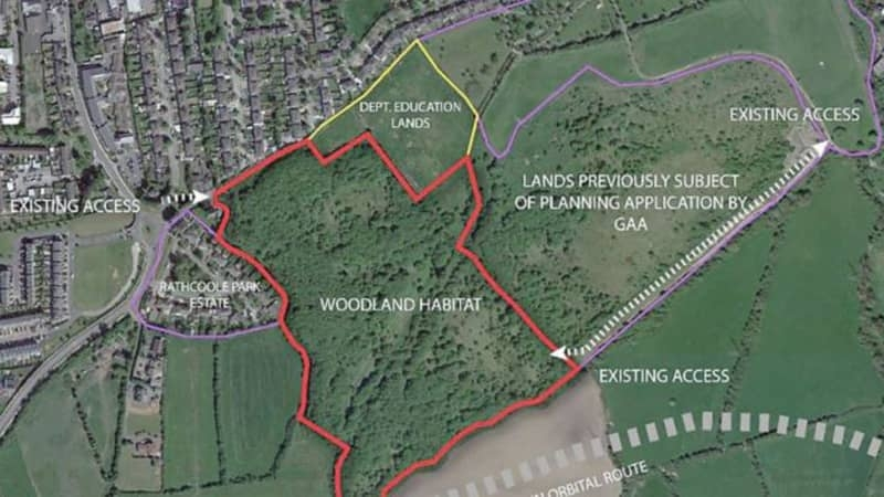 Residents hope to overturn planning at Rathcoole woodlands