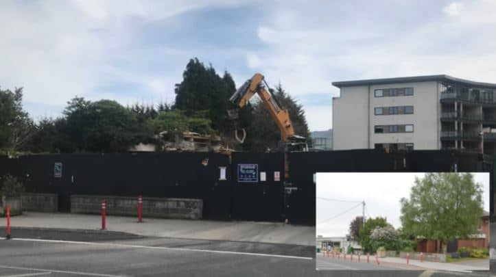 Former Bank of Ireland building in Tallaght Village demolished