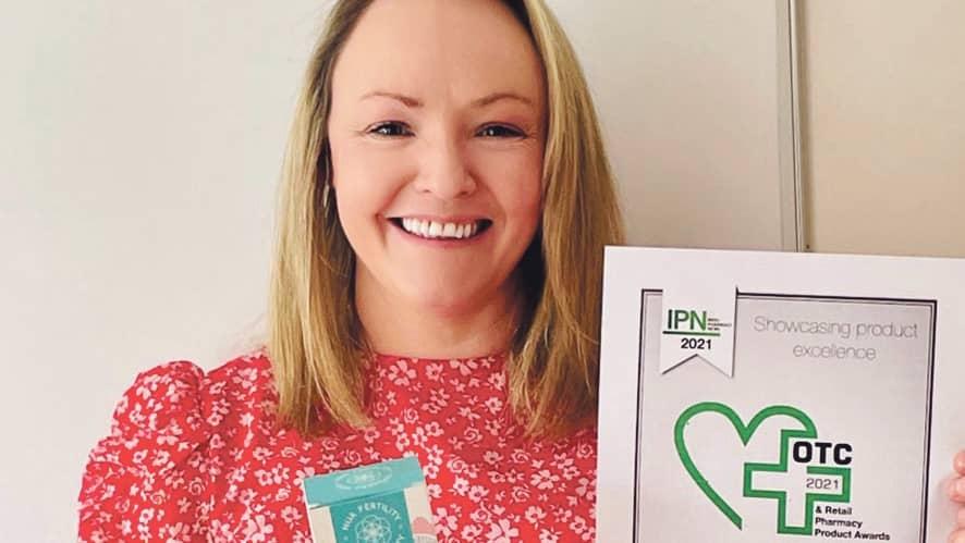 Deborah's company wins Best Women's Health Product award