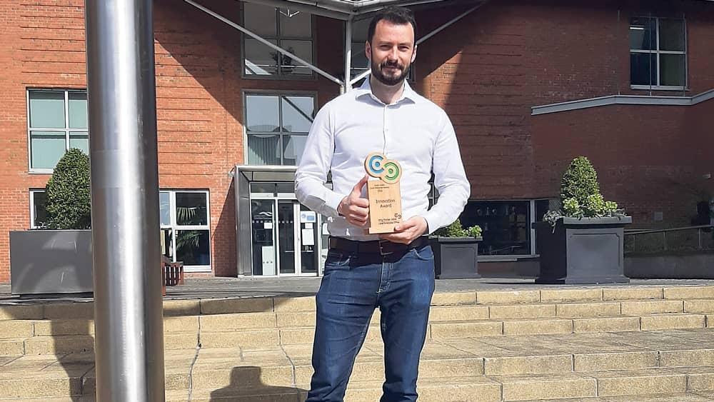 Amach Software enjoy success  with LEO Innovation award