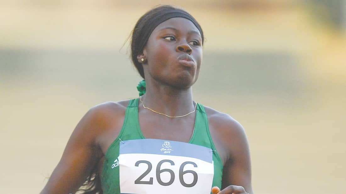 Adeleke catches fire in Texas to set Under 20 200m record