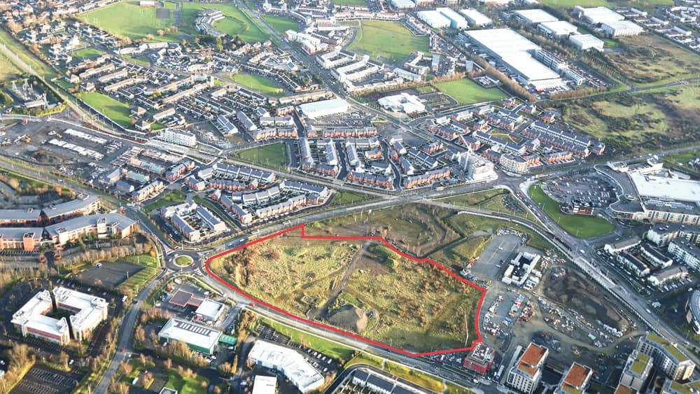 €8.5 million for Citywest site with planning for 110 residential units
