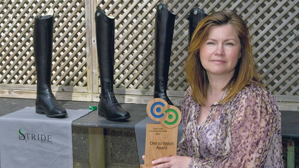 Equestrian footwear company is certainly 'one to watch' in future