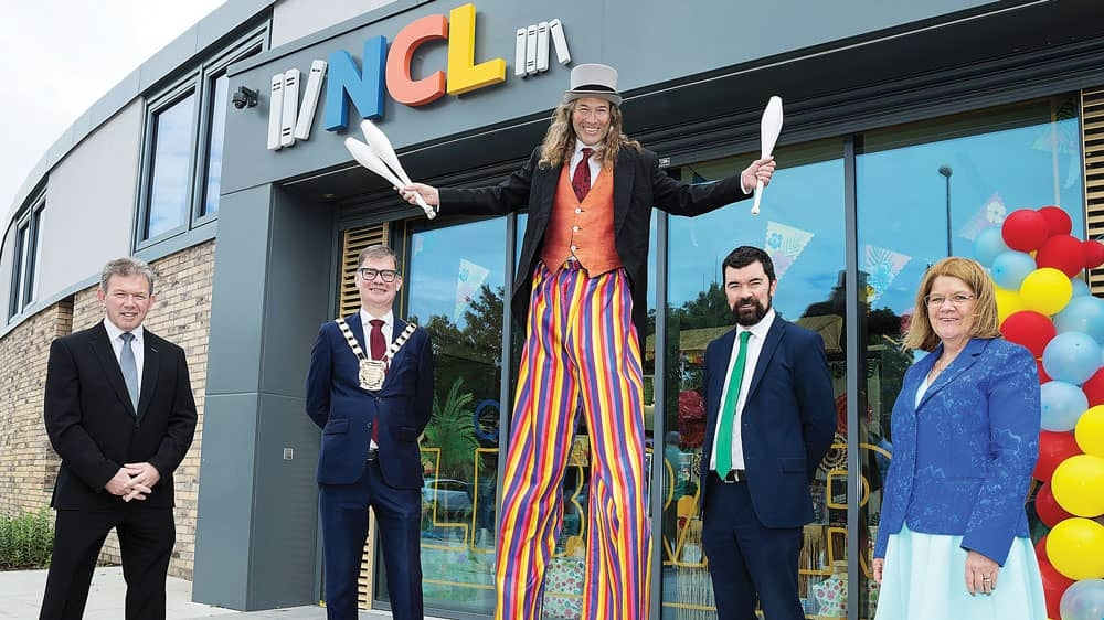 New state-of-the-art €5.2m library opens