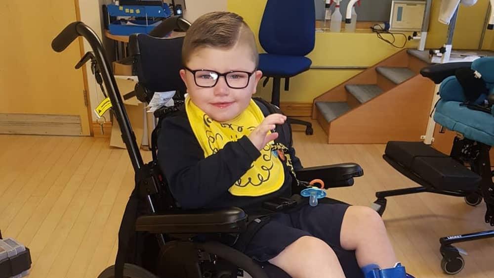 'Medical mystery' Sean (5) €125,000 fundraising target
