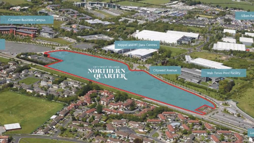 'Ready to go' Citywest site with planning for 98 units on market