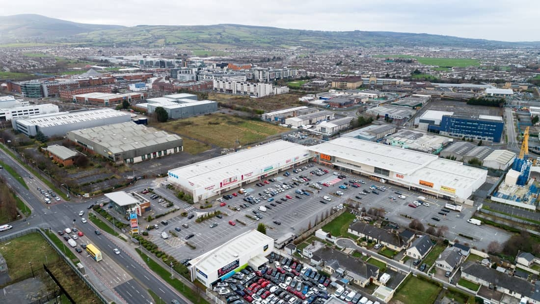 Belgard Retail Park goes to market as part  of portfolio deal with guide price of €78 million