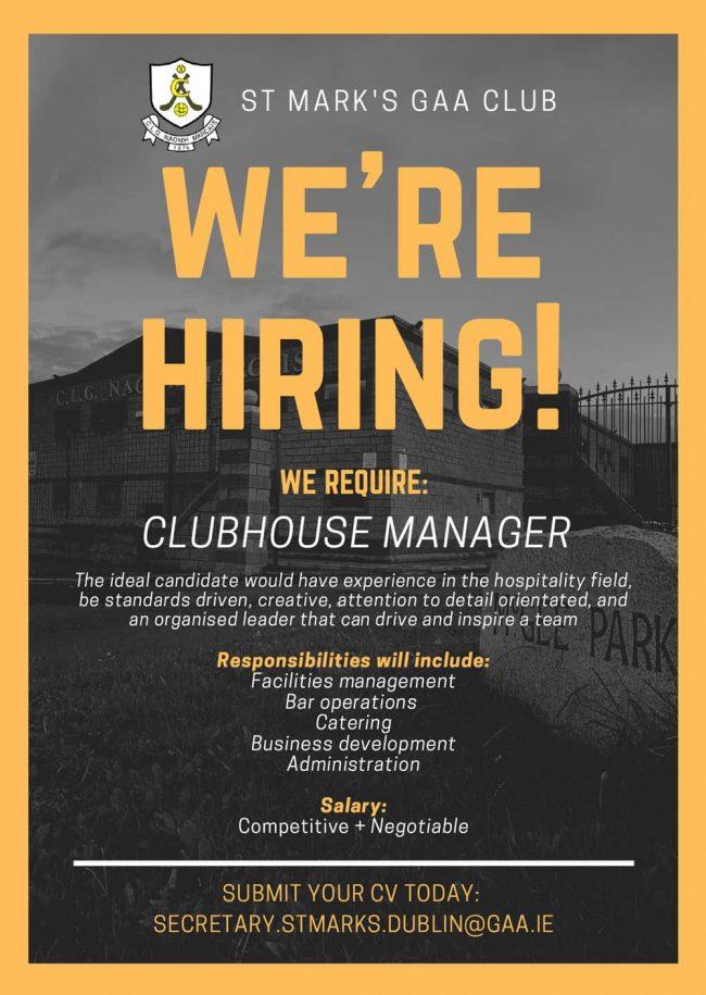 AF586 St Marks Job Vacancy Announcement 2 1