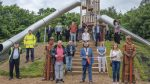 Viking themed state-of-the-art playspace is opened by Mayor in Corkagh Park