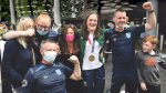 St Mary's welcome home their Olympic hero Kellie