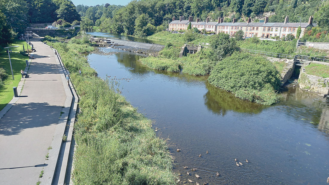 Lucan weir is 'not bathing water and  not tested to the bathing water standard'
