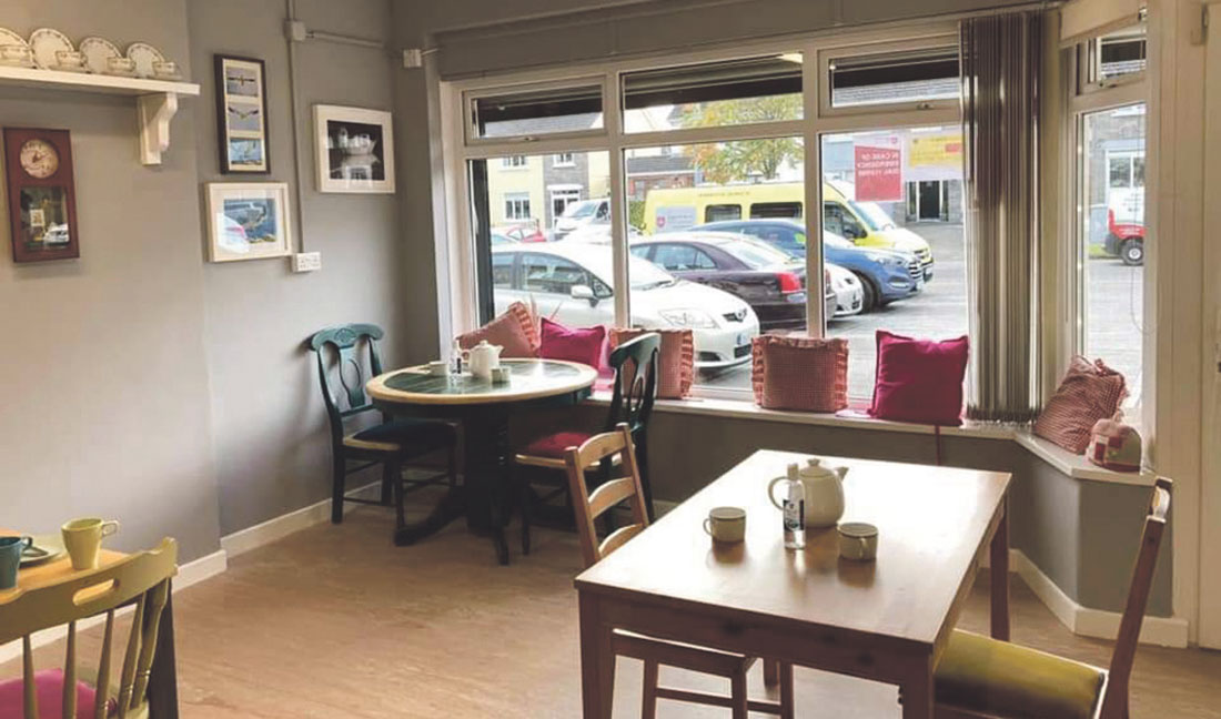 Community coffee shop re-opens to delight of customers