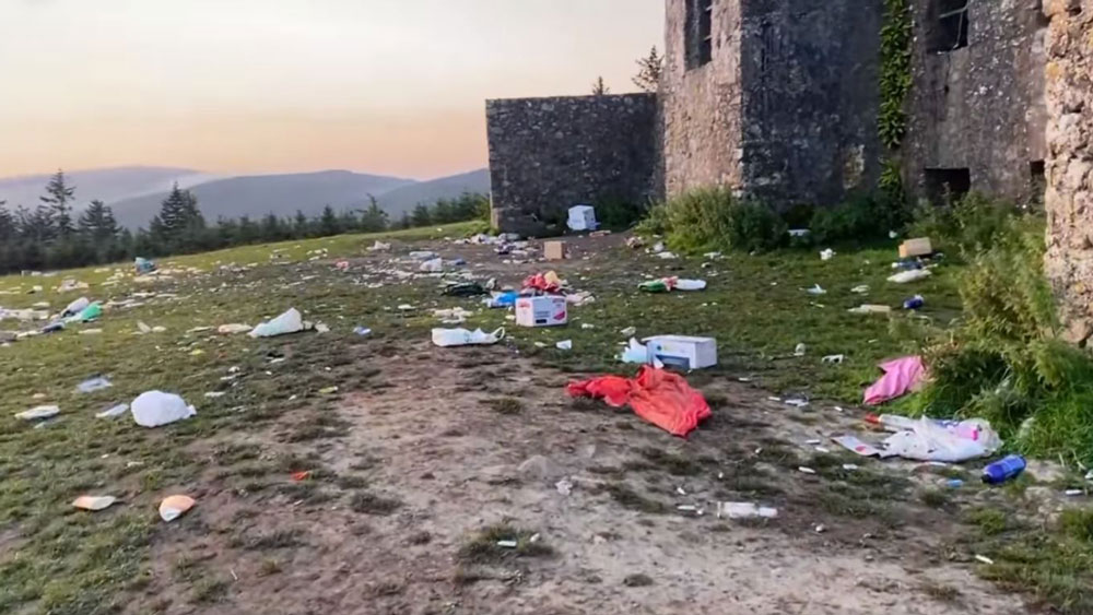 Hellfire Club littering was an 'exceptional mess'