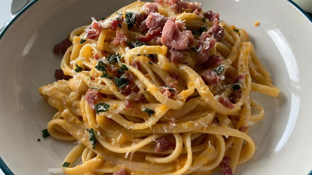 Food with JP Passion: Roast Butternut Squash Carbonara