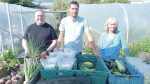 Bonanza harvest pays off for charities at community garden